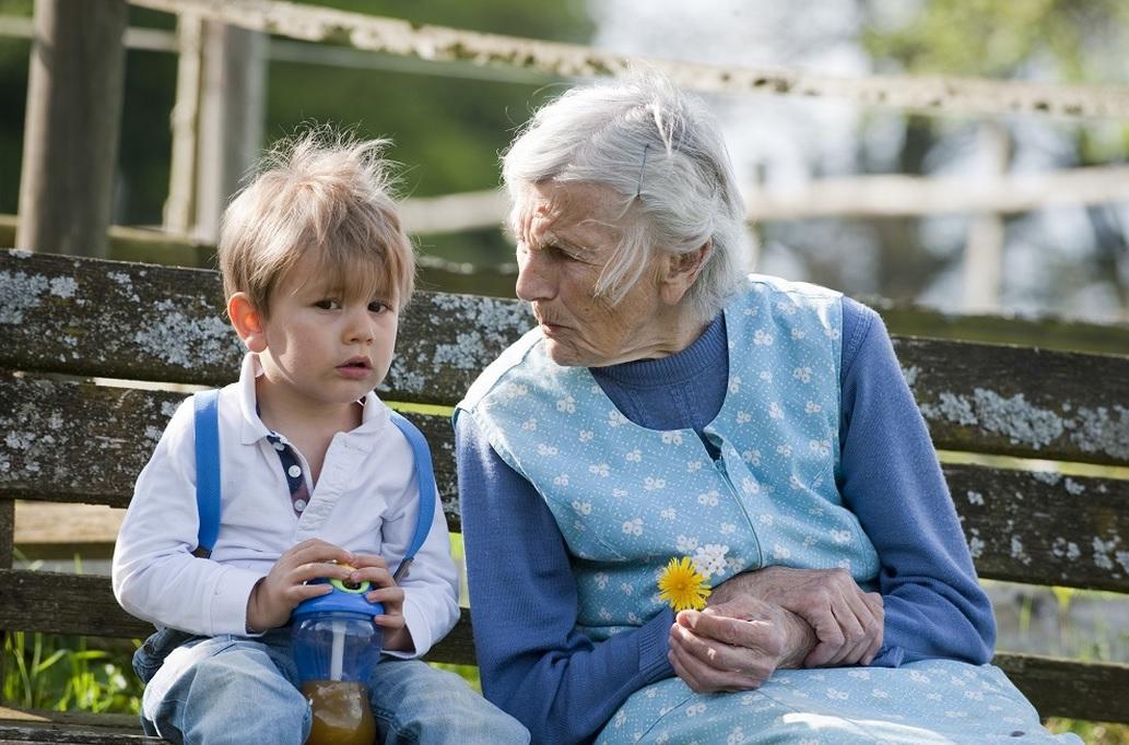 картинки старичок с детьми блюдо