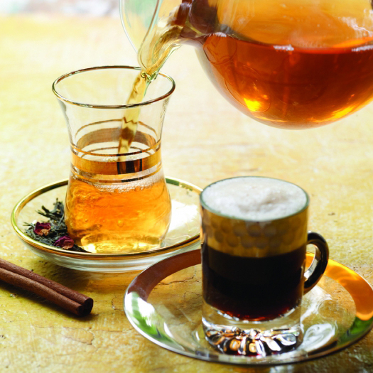 Кофе или чай с похмелья