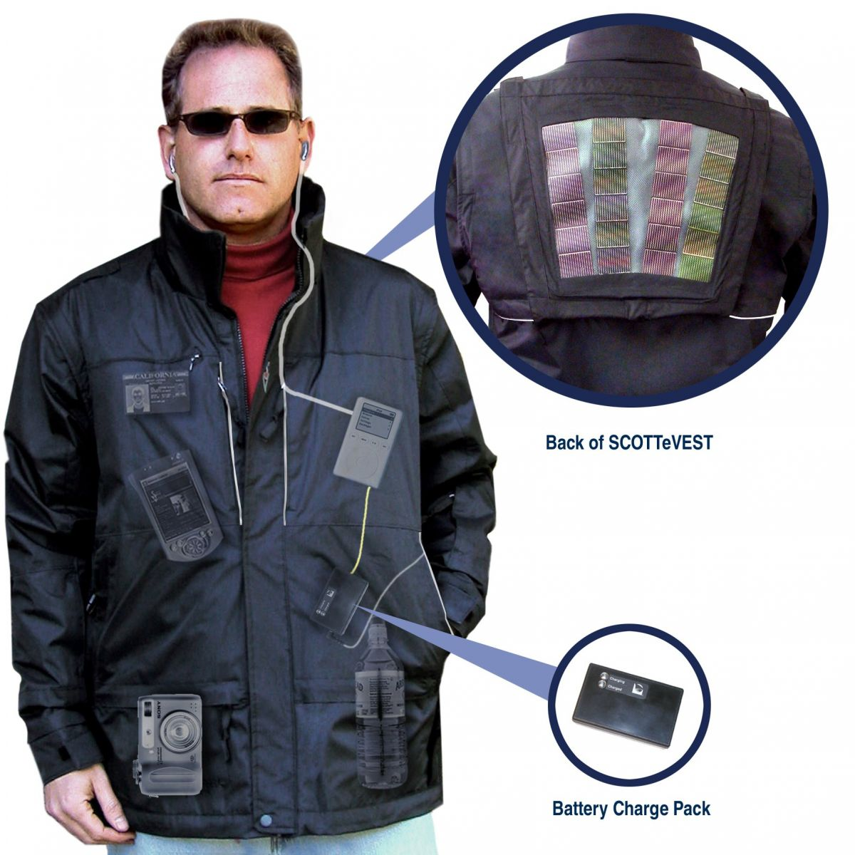 ScotteVest Solar Jacket