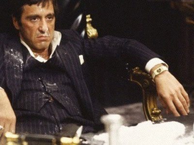 Tony Montana didn't seem too happy.