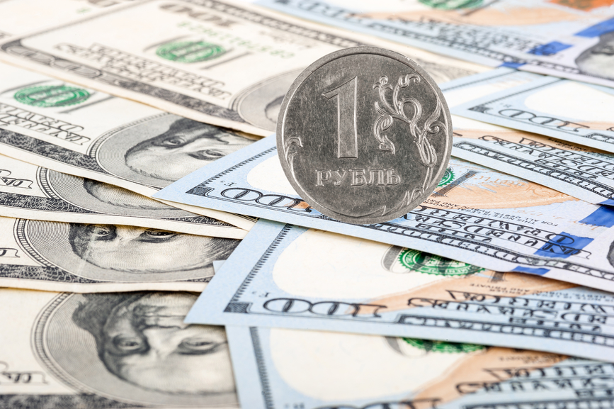 Графики рубля к доллару форекс
