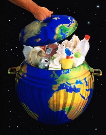 Проблема мусора в городах